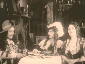 Clip from Mistress Nell (1915) - Music by Brahms
