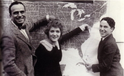 Mary Pickford, Douglas Fairbanks and Charlie Chaplin - 1919