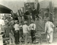 On the set of My Best Girl - 1927