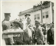 Colonel Mary Pickford of the 143rd Reg. field artillery at Camp Kearny, Calif. - 1918