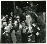 Mary Pickford helps underpriveleged children celebrate Christmas - 1933