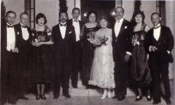 Mary Pickford and Douglas Fairbanks's wedding - 1920