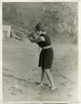 Mary Pickford playing golf - 1922