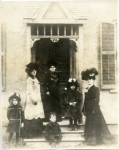 The Pickford family in Toronto - 1899