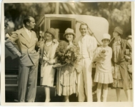 Douglas Fairbanks, Mary Pickford, Charlotte Pickford, Jack Pickford, Gwynne and Lottie Pickford - 1922