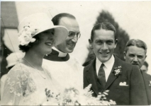 Jack Pickford and Marilyn Miller's wedding - 1922