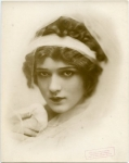 Mary Pickford in A Good Little Devil publicity photo; play opened Republic Theatre, New York City  1/17/1913 - 1913