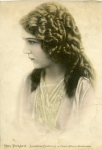 Mary Pickford tinted portrait - 1913