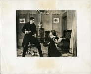 Mary Pickford and Arthur Johnson in To Save Her Soul, a Biograph short - 1909