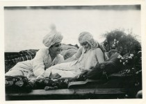 Mary Pickford and W.E. Lawrence as Morgiana and Ali-Baba in A Little Princess - 1917