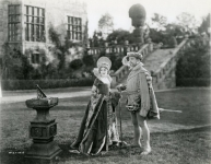 Mary Pickford and Anders Randolph in Dorothy Vernon of Haddon Hall - 1924
