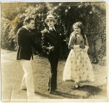 Mary and Jack Pickford with Marshall Neilan in The Girl of Yesterday - 1915