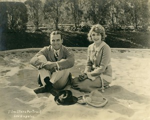 Mary and Doug at Pickfair, 1920