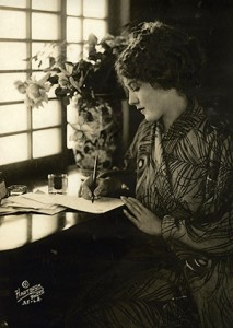 Mary Pickford Signing