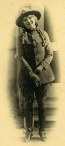 Johanna Enlists, 1917