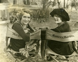 Mary and Frances Marion, 1919