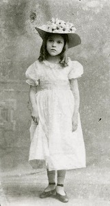 Mary as Eva in the stage play Uncle Tom's Cabin, 1901