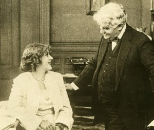Mary Pickford and David Belasco