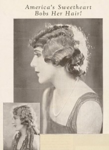 Mary Pickford - America's Sweetheart Bobs Her Hair!
