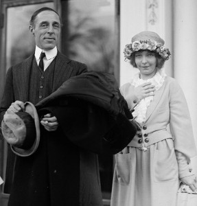 D.W. Griffith and Lillian Gish