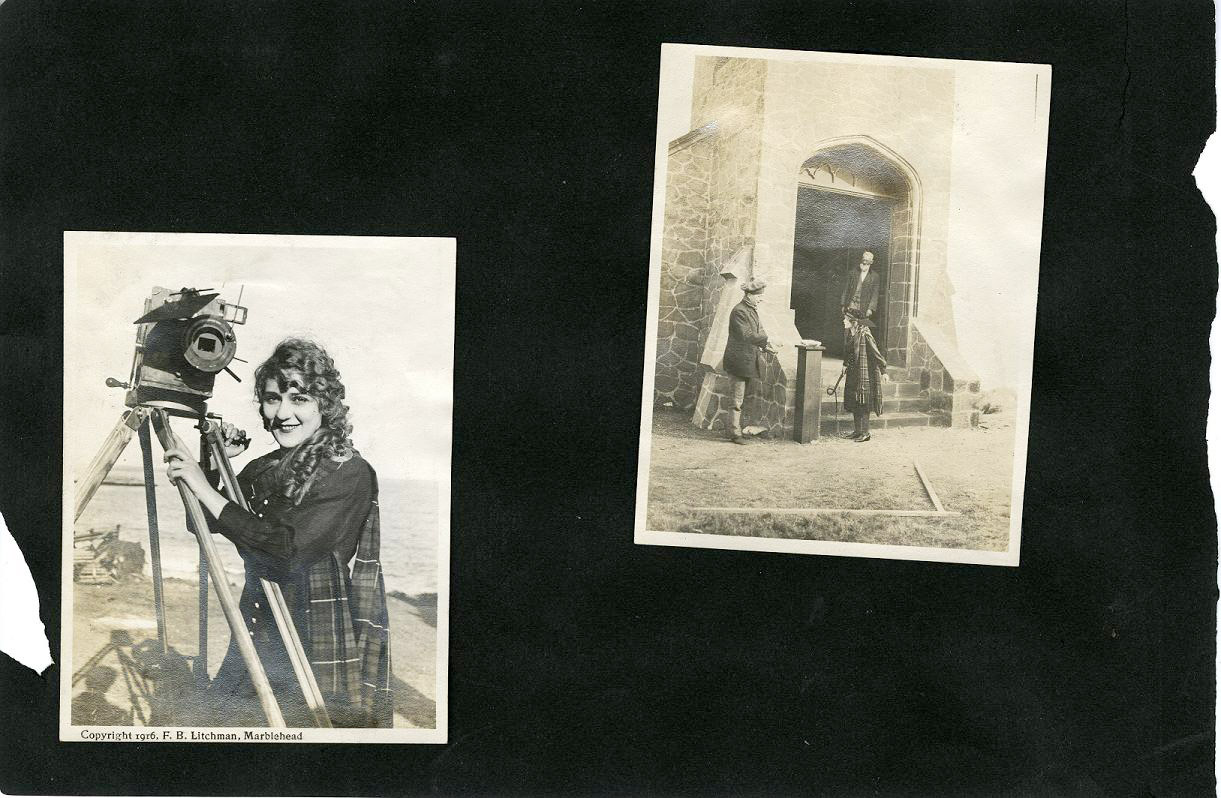 Marblehead Mary Pickford Scrapbook Image 1