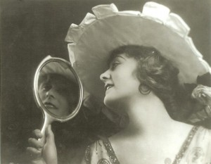 Frances Marion modeling in San Francisco