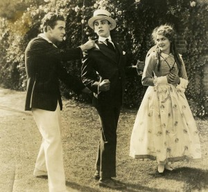 Marshall Neilan, Jack Pickford and Mary Pickford