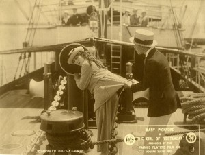 Mary and Jack Pickford on the Spreckles yacht