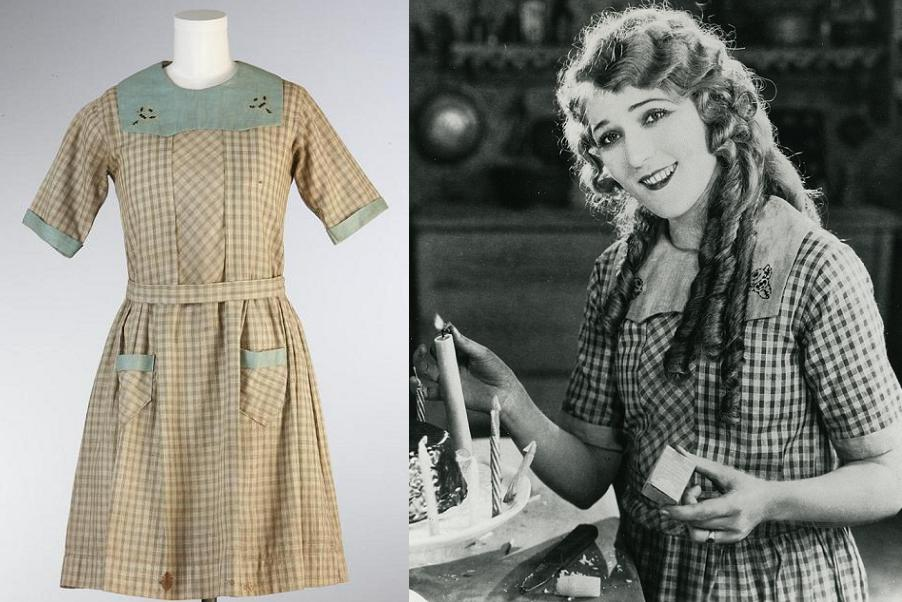 Mary Pickford dress from Little Annie Rooney,