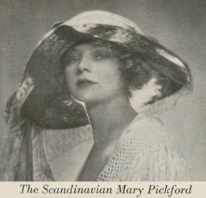 The Scandinavian Mary Pickford - Academy Scrapbook #21 detail