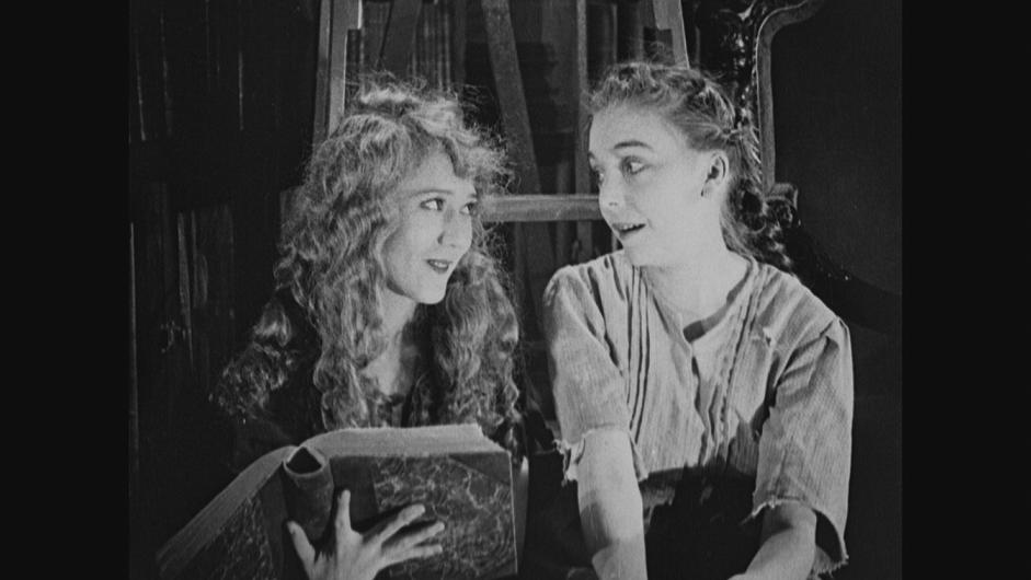 ZaSu and Mary Pickford in A Little Princess