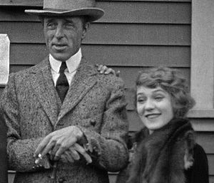 D.W. Griffith and Mary Pickford