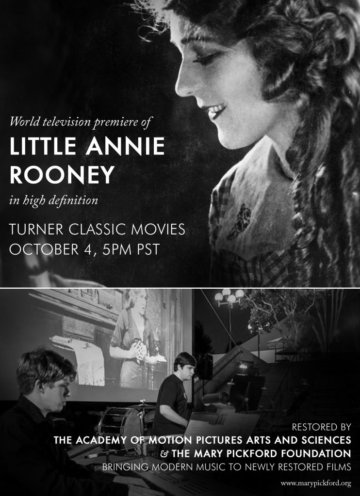 Little Annie Rooney on Turner Classic Movies – Oct 4, 5PM PST