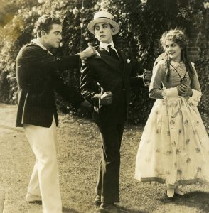 Mickey Neilan, Jack Pickford, and Mary Pickford