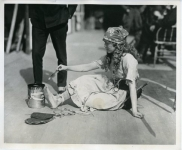 Mary Pickford on the set of M'Liss - 1918