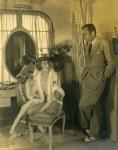 Mary Pickford and Douglas Fairbanks at Pickfair - 1925 (ca.)