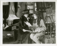 Mary and Charlotte Pickford  on the set of The Poor Little Rich Girl - 1916