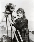 Mary Pickford on the set of The Pride of the Clan - 1917