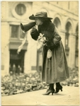 Mary Pickford at Liberty Loan Rally - 1918
