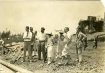 Mary Pickford and associates at Pickford-Fairbanks Studio - 1925