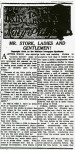 Mr. Stork, Ladies and Gentlemen – April 23, 1916 (2 of 2)