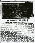 Sentimental girls – April 27, 1916 (1 of 2)