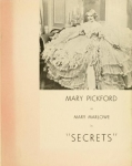 1933  -  Secrets ad from <em>The Hollywood Reporter</em>