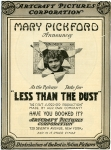 1916  - <em>Less Than the Dust</em> advertisement