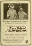 1919  - <em>Daddy-Long-Legs</em> ad