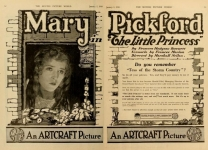 1918  - Ad from <em>Motion Picture World</em> magazine