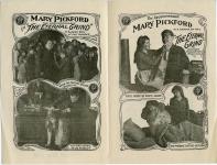 1916  - Flyer for <em>The Eternal Grind</em> (inside)