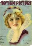1924 - Cover of <em>Motion Picture</em> magazine