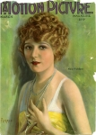 1922  - Cover of <em>Motion Picture</em> magazine