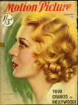 1933 - Cover of <em>Motion Picture</em> magazine